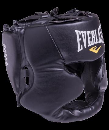Шлем закрытый Everlast Martial Arts full face 7420LXLU, L/XL, кожзам, черный
