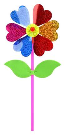 Вертушка Наша Игрушка Цветик с листочками 6906E