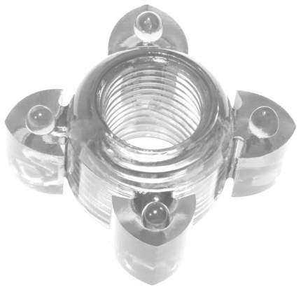 Эрекционное кольцо Lola Toys Rings Screw прозрачный