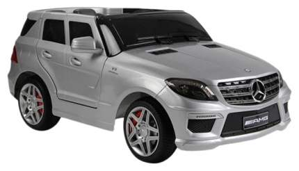 Rt Ml63 Электромобиль Mercedes-Bens Amg 12V R/C Silver с Резиновыми Колесами