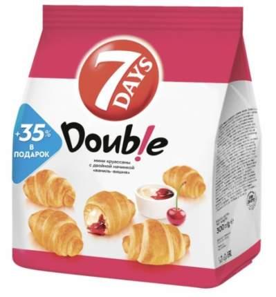 Круассаны-мини 7 Days с двойной начинкой ваниль-вишня 300 г