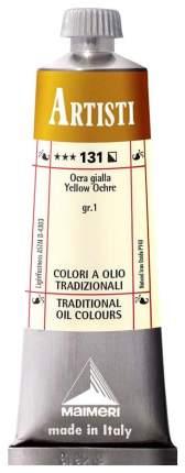 Масляная краска Maimeri Artisti охра желтая 40 мл