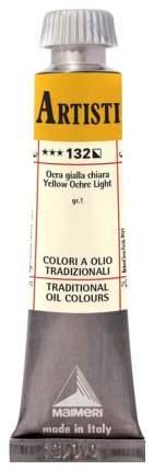Масляная краска Maimeri Artisti M0102132 охра желтая светлая 20 мл