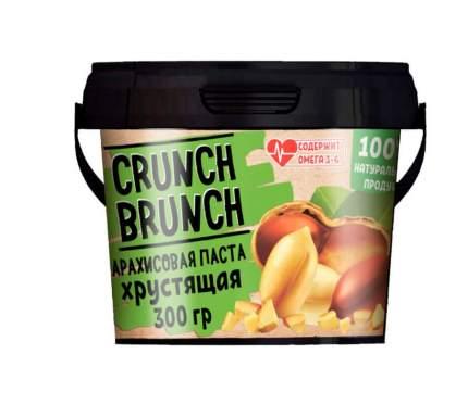 Арахисовая паста Crunch Brunch хрустящая 300 г
