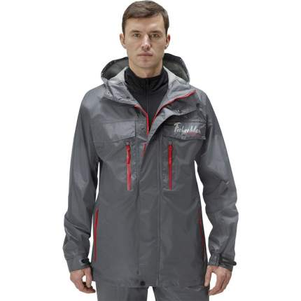 Куртка для рыбалки Nova Tour Fisherman Коаст V2, темно-серая, L INT, 182 см