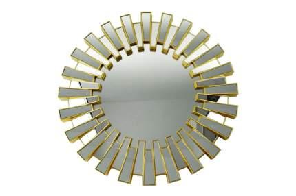Зеркало настенное Hoff 80299976 66х66 см, золотой