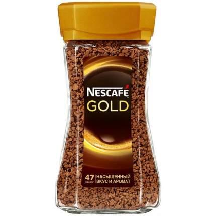 Кофе Nescafe gold растворимый 95 г