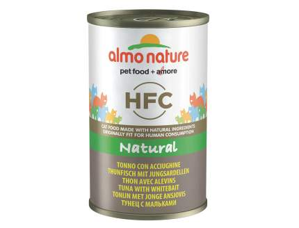 Консервы для кошек Almo Nature HFC Natural, рыба, тунец, 140г