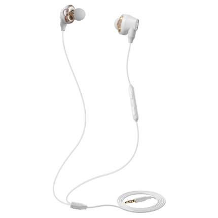 Наушники Baseus Encok H10 Dual Dynamic Wired Headset White