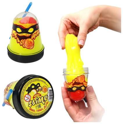 Игрушка SLIME S130-2 Ninja, 2 в 1 желтый и красный