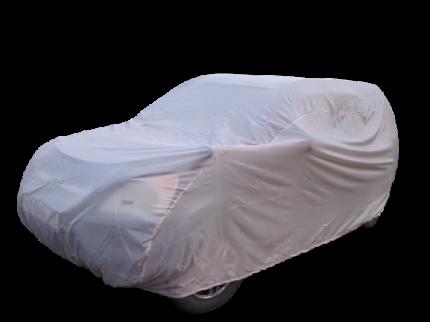 Тент чехол для автомобиля, ЭКОНОМ плюс для Mazda 2