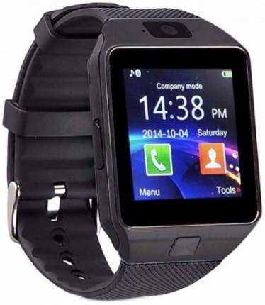 Смарт-часы CARCAM Smart Watch DZ09 Black/Black
