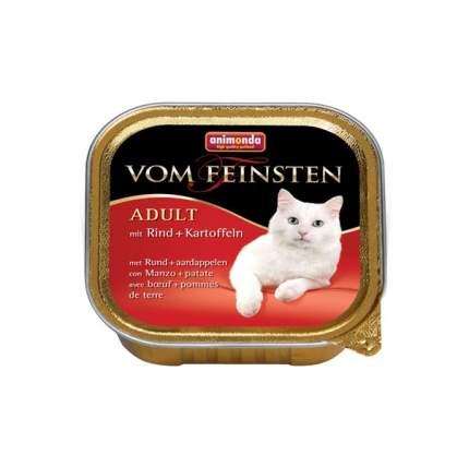 Консервы для кошек Animonda Vom Feinsten Menue, говядина, картофель, 100г
