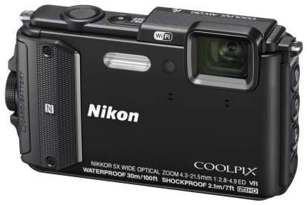 Фотоаппарат цифровой компактный Nikon Coolpix AW130 Black