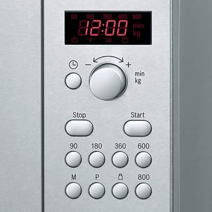 Микроволновая печь соло Bosch HMT75M451 silver/black
