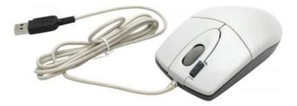 Проводная мышка A4Tech OP-620D White/Blue