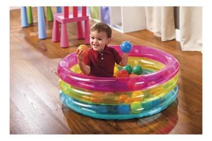 Игровой центр Intex Радуга с 50 шарами
