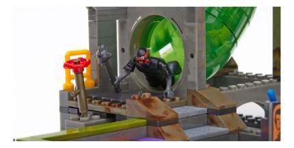 Конструктор пластиковый Mega Bloks® Черепашки ниндзя логово злодеев DMX55