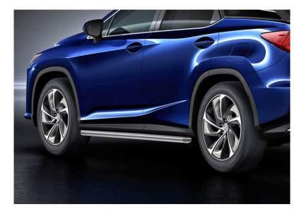 Защита порогов RIVAL для Lexus (R.3211.004)