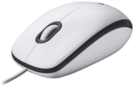 Проводная мышка Logitech M100 White (910-005004)