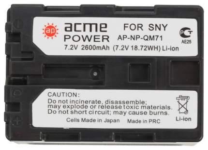 Аккумулятор для цифрового фотоаппарата AcmePower AP-NP-QM71