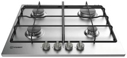 Встраиваемая варочная панель газовая Indesit THP 642 IX/I Silver