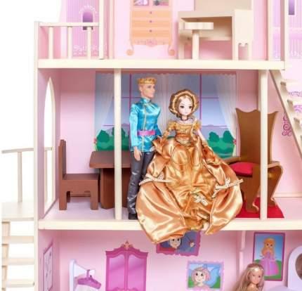 Дом кукольный Paremo Розовый сапфир розовый PD316-05