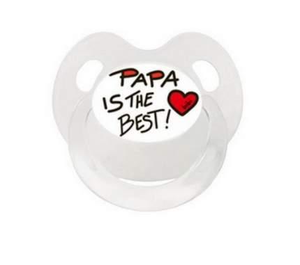 Пустышка BIBI Dental силикон 16+ мес., Basic Care Mama/Papa, в ассортименте