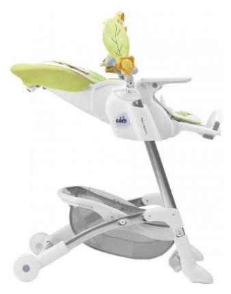 Стульчик для кормления Cam Insante белый/зеленый/мишка (S2400-C221)