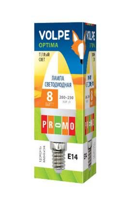 Лампа светодиодная (UL-00001769) E14 8W 3000K свеча матовая LED-C37-8W/WW/E14/FR/O