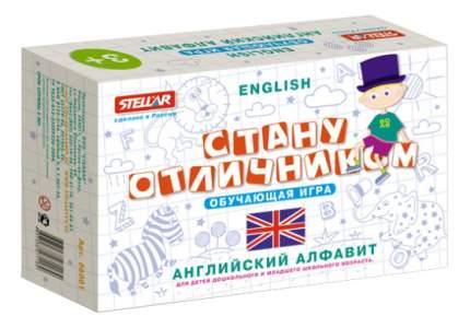 Семейная настольная игра Stellar Английская азбука
