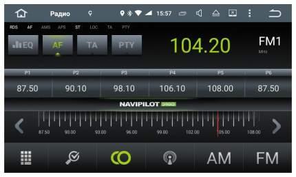 Штатная магнитола NaviPilot для Skoda Droid4