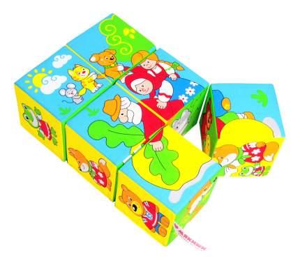 Детские кубики Мякиши Сказки