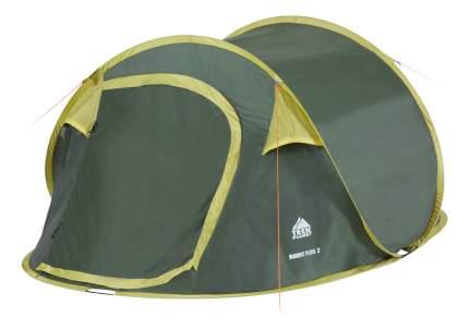 Палатка Trek Planet MomentPlus двухместная зеленая