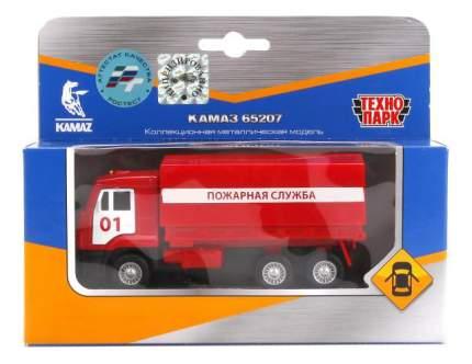 Машина спецслужбы Технопарк Камаз 65207 Пожарная служба