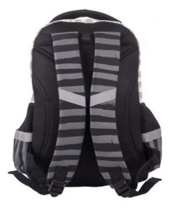 Рюкзак Gulliver школьный с пикси-дотами (серый)