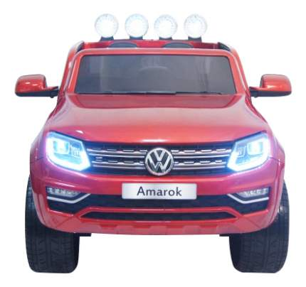 Электромобиль Volkswagen Amarok вишневый RIVERTOYS