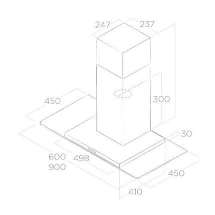 Вытяжка купольная Elica Flat Glass IX/A/60 Silver