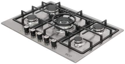 Встраиваемая варочная панель газовая RICCI RGN-EL 5008 IX Silver