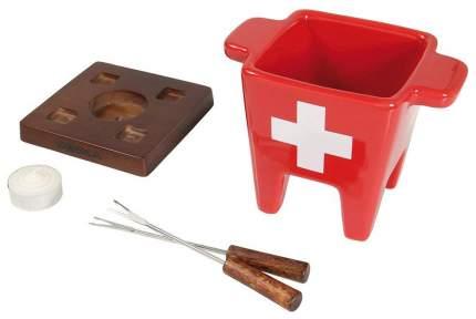 Набор для фондю Boska Tapas Fondue Swiss 853543 Красный