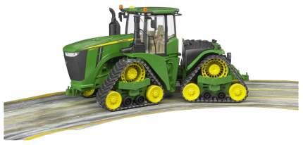 Игрушечный трактор Bruder John Deere 9620RX гусеничный 04-055