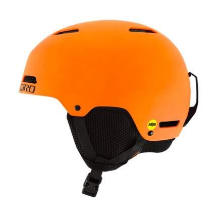 Горнолыжный шлем детский Giro Crue 2018, оранжевый, S