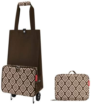 Дорожная сумка Reisenthel Foldable Trolley Diamonds Mocha 66 x 27 x 29