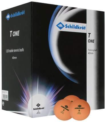 Мячи для настольного тенниса Donic 1T-Training оранжевые, 120 шт.