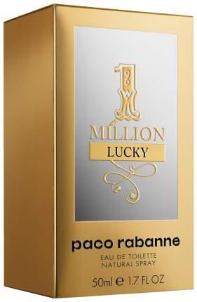 Туалетная вода Paco Rabanne 1 Million Lucky 50 мл