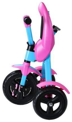 Складной Велосипед трехколесный Zycom Ztrike голубо-розовый