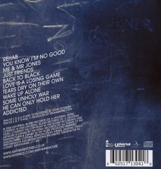 "Виниловая пластинка  Amy Winehouse ""Back To Black"" (LP)"