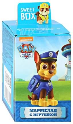 Мармелад Paw Patrol sweet box  с коллекционной игрушкой 10 г