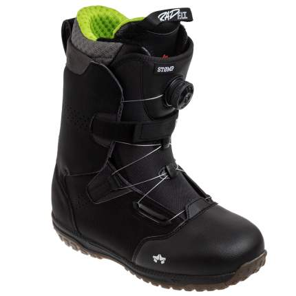 Ботинки для сноуборда Rome M's Stomp 2020, black, 28