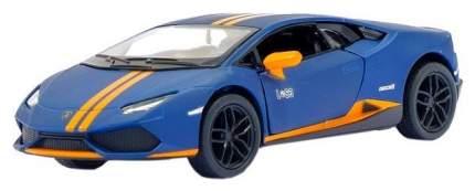 Машина металлическая инерционная Kinsmart Lamborghini Huracán LP610-4 Avio matte 1:36